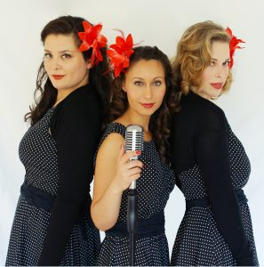FräuleinSwing - American Christmas Songs from the 20s to 50s @ Bürgerhaus Bilk, Salzmannbau